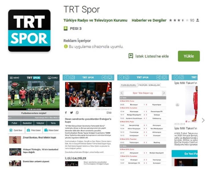 TRT Spor indir 4