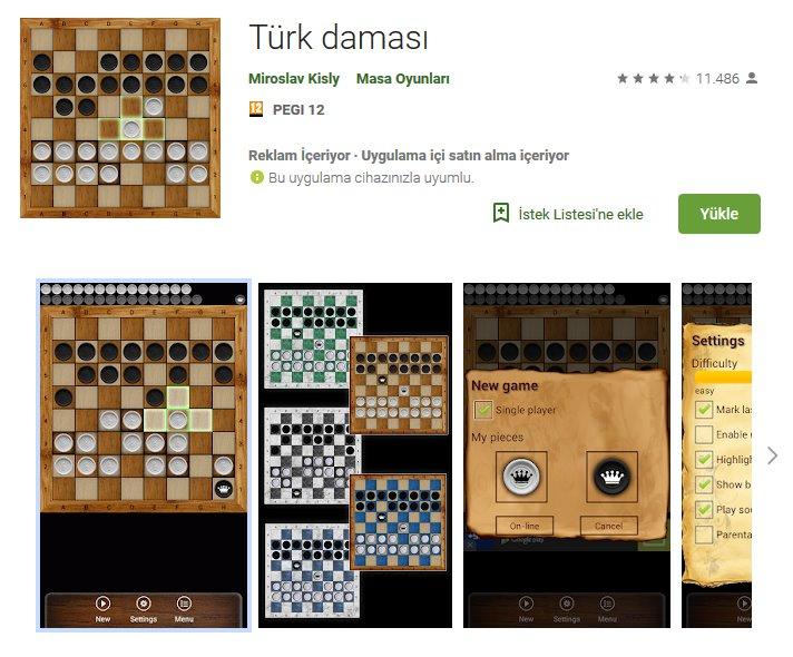 Türk Daması indir 4
