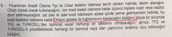 Turkcell'den alınan telefonlar kapanacak mı? 4