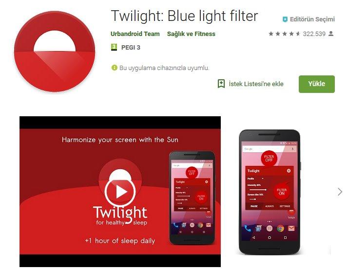 Android'de gece modu nasıl açılır?   Mavi ışığı devre dışı bırakın 4