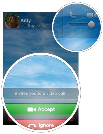weChat iphone görüntülü konuşma