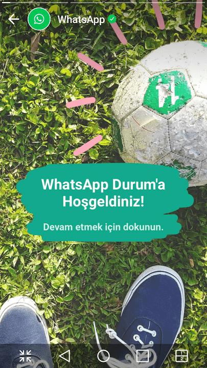 Whatsapp Hikayeler nasıl kullanılır? 16