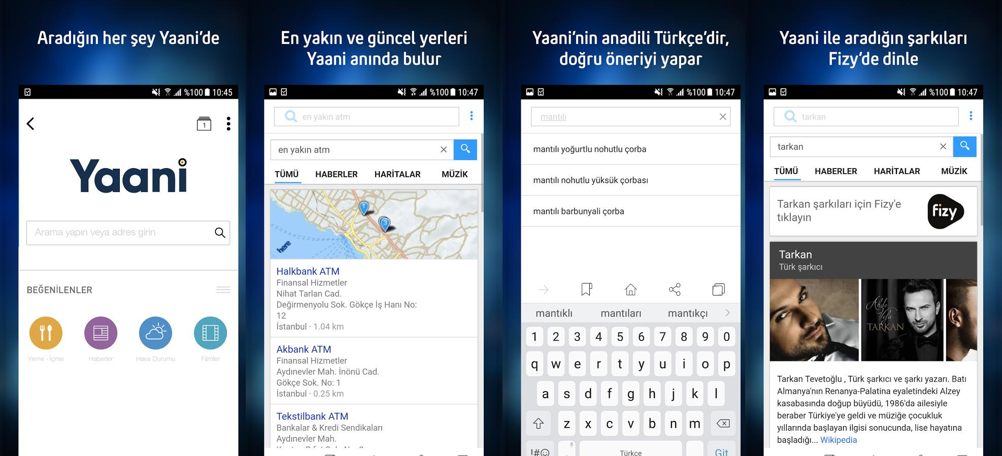 Türkiye'nin arama motoru Turkcell Yaani 4